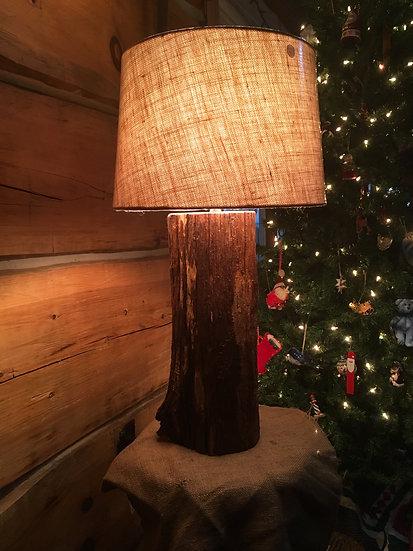 Reclaimed Locust Fence Post Lamp