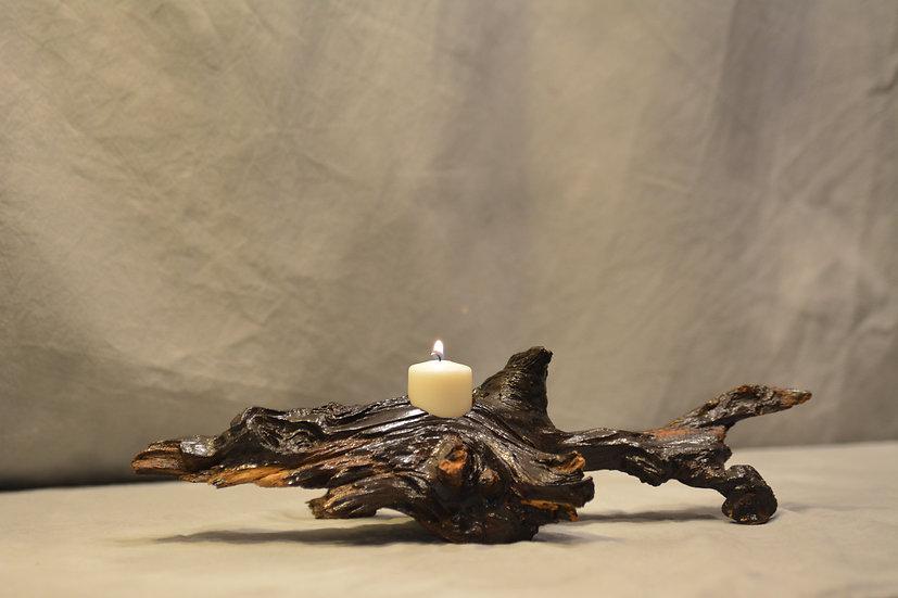 Locust Root Candle Holder