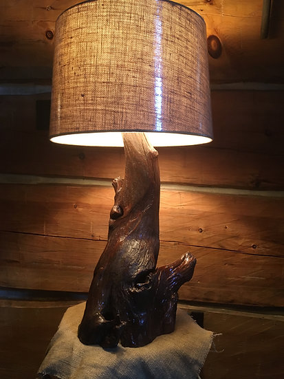 Locust Root Lamp