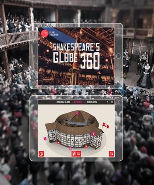 Shakespeare's Globe 360 : iOS AR app