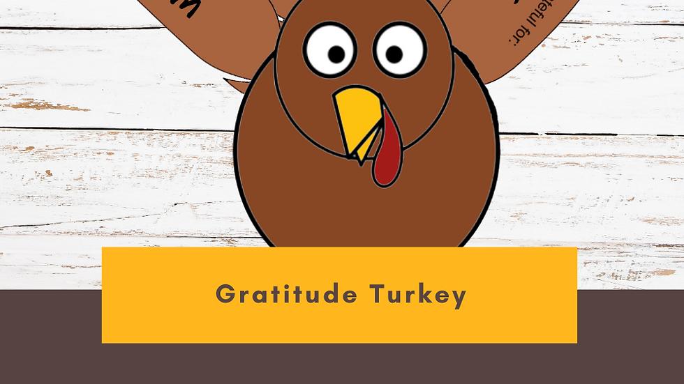 Gratitude Turkey
