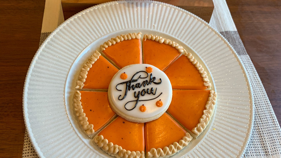 Pumpkin Pie Cookie Platter