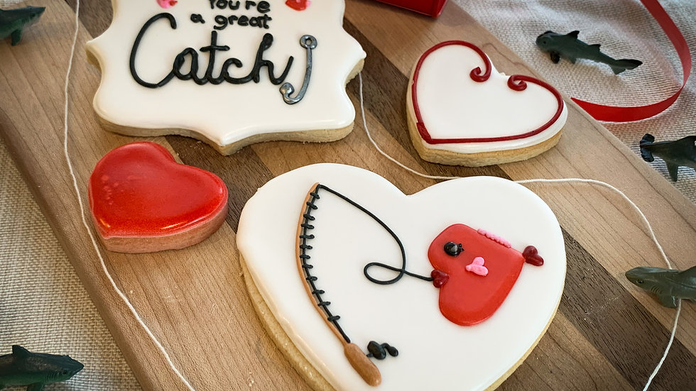 You're a Great Catch! Cookie Set