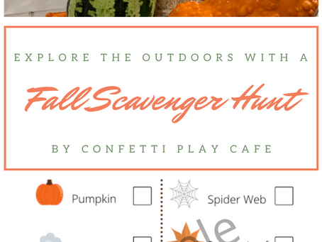 Explore the Outdoors with a Scavenger Hunt