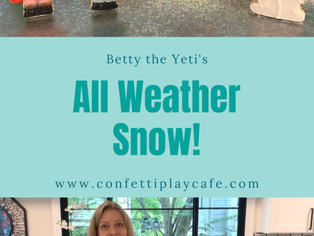 Betty the Yeti's All Weather Snow!