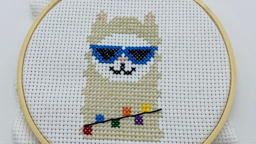 PDF Pattern: Llama Counted Cross Stitch
