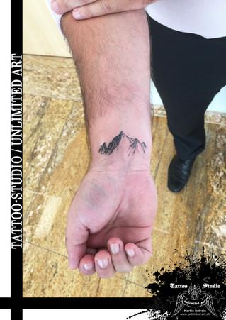 Berge Tattoo / Mountains Tattoo