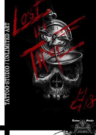 Lost in Time 1 / Bildbearbeitung - Tattoo Studio unlimited art / Martin Gstrein
