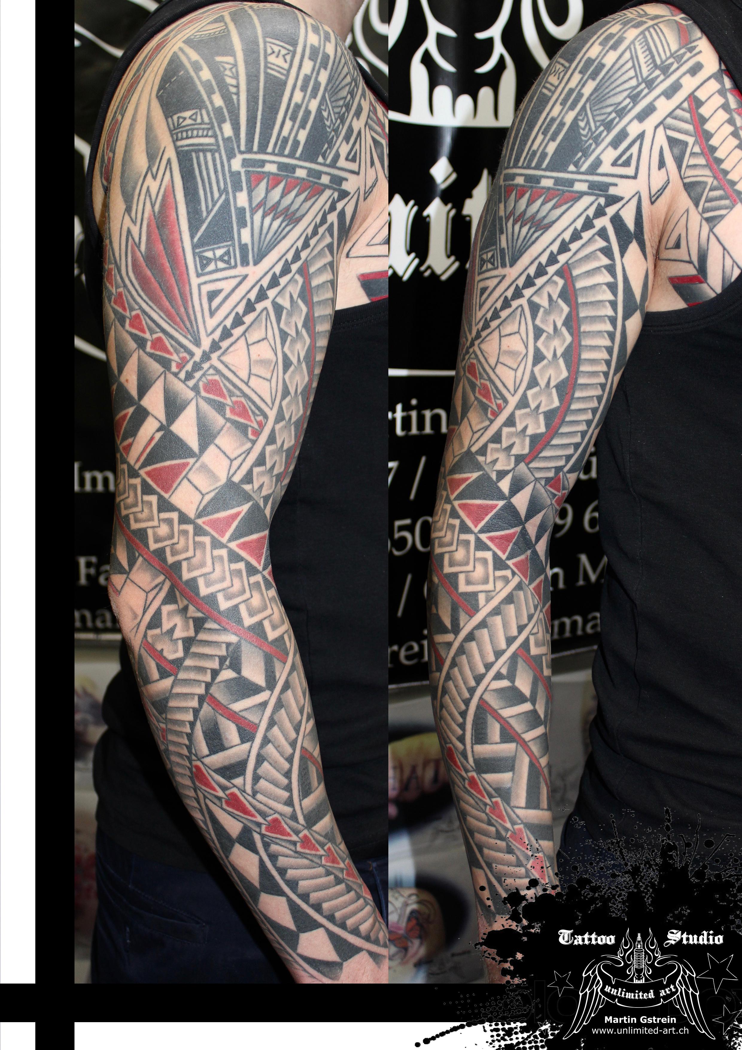 trash maori tattoo