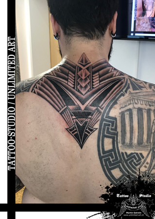 Maori Rücken Erweiterung Tattoo / Maori Back Extension Tattoo 1