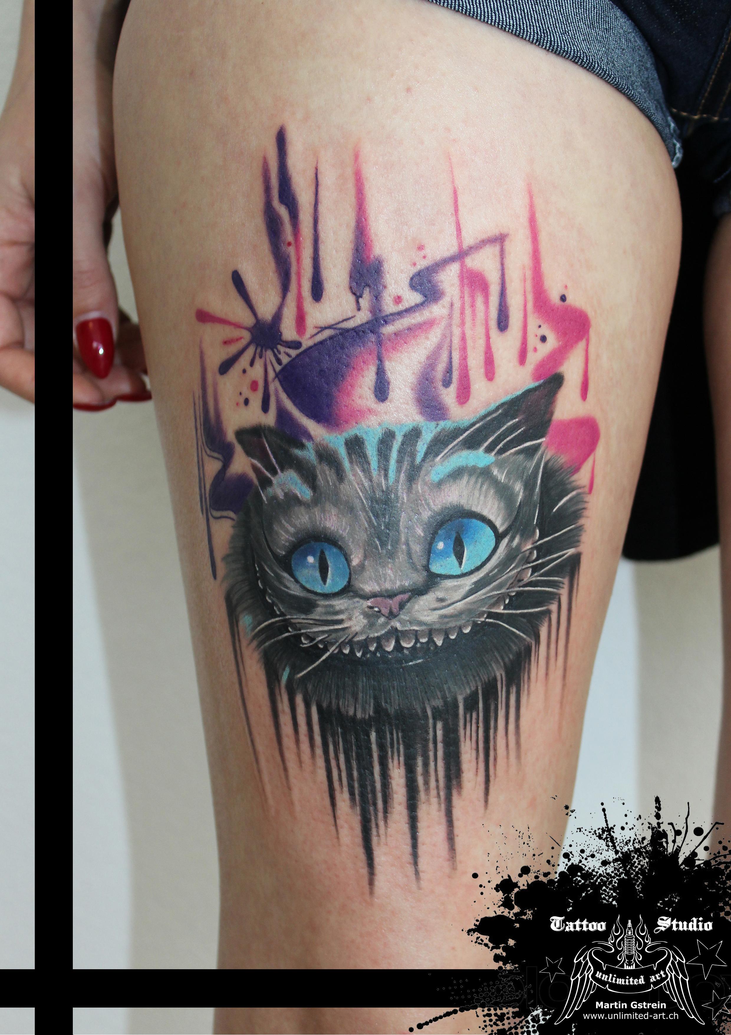 "colour tattoo ""alice in wonderland"""