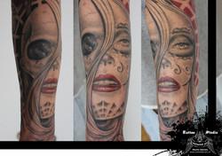 trash horror tattoo