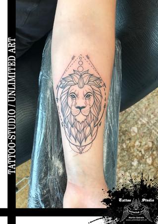 Löwe Tattoo / Lion Tattoo