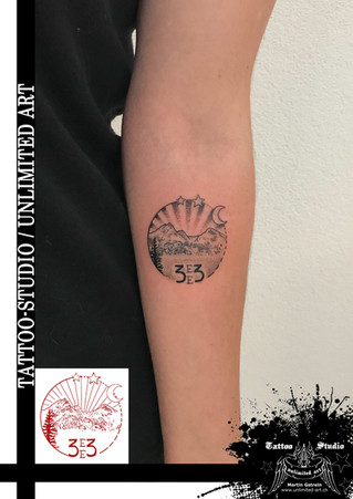Andenken an Opa Tattoo / Mädchen Tattoo / Keepsake Of Grandpa Tattoo / Girly Tattoo / Davos Tattoo