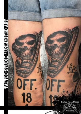 Der Tod Tattoo / The Death Tattoo - I WANT YOU Tattoo