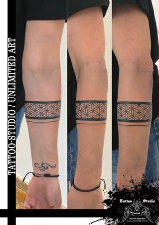 Lebensblume-Tattoo /  Flower Of Life Tattoo