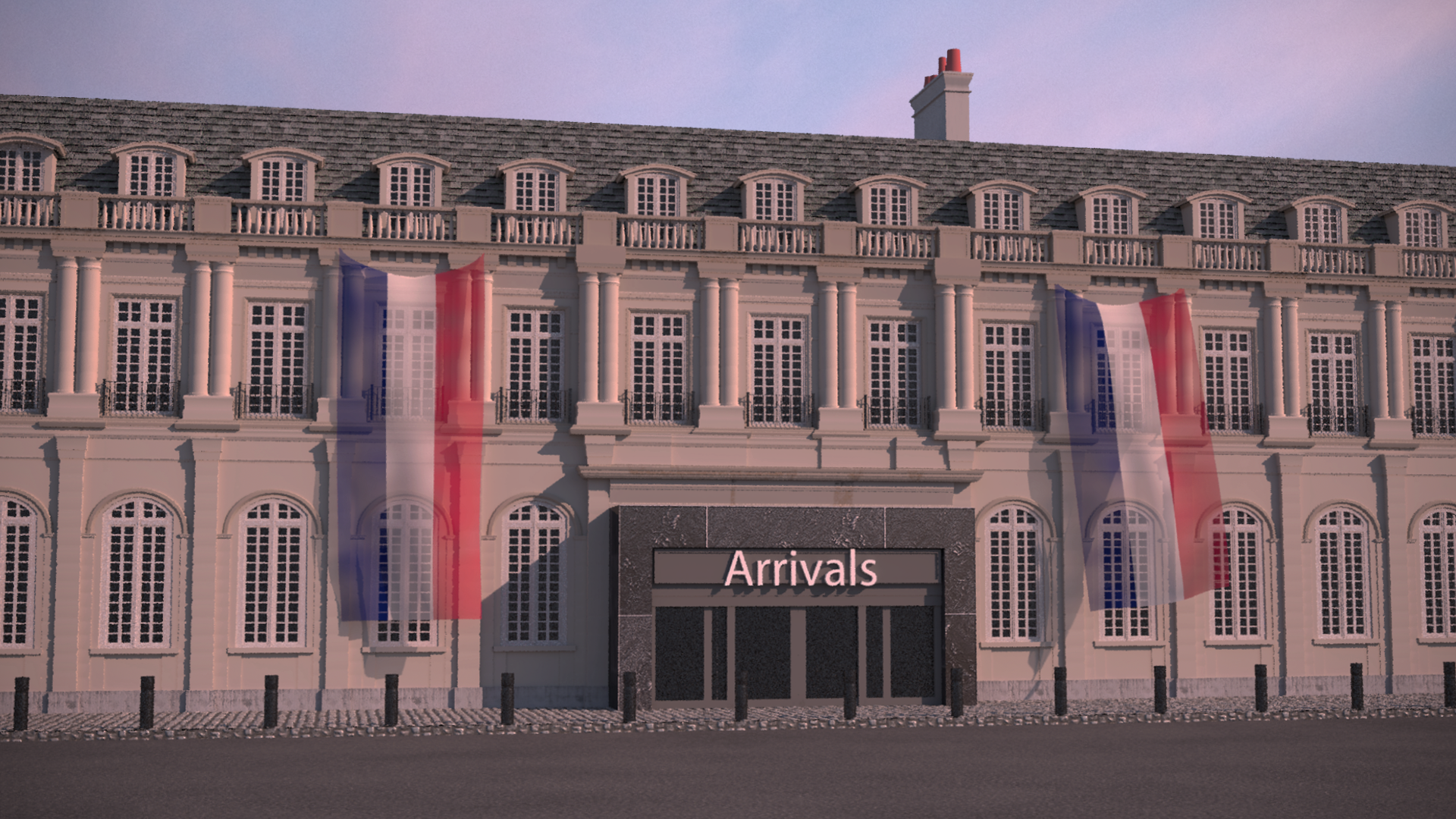 Old French Airport