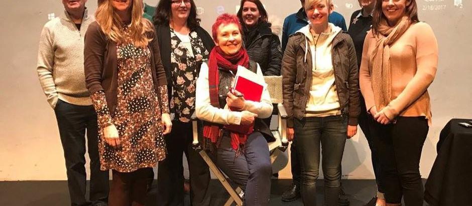 Public Speaking at The Hawk's Well Theatre, Sligo
