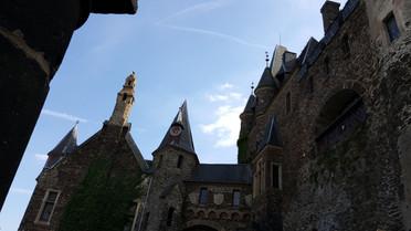 Burg Cochem Innenhof