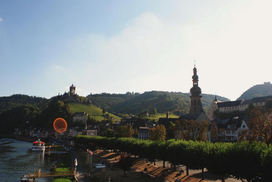 Brücken-Blick auf Cochem