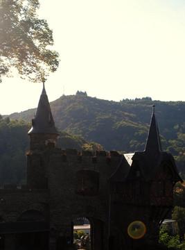 Burg-Tor
