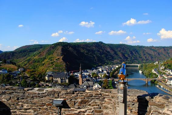 Burg-Aussicht auf Cochem