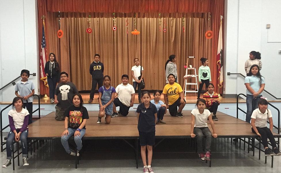 Nevin Avenue Elementary - Stage w Thrust
