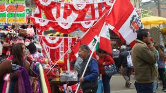 Fiestas Patrias: Municipalidad de la Victoria autoriza comercio ambulatorio en Gamarra