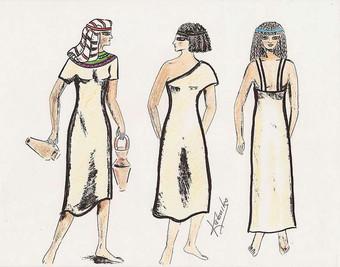 ¿Sabías que la moda de diseño se remonta hasta los tiempos del Antiguo Egipto?