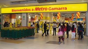 Metro inaugura supermercado en el corazón de Gamarra