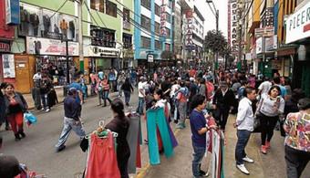 Navidad 2018: el caos invade Gamarra por ambulantes y compradores