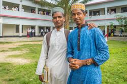 2018 Boys in Front of School