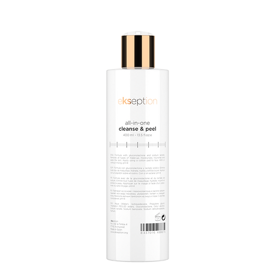All in one Cleanse and Peel 400ml