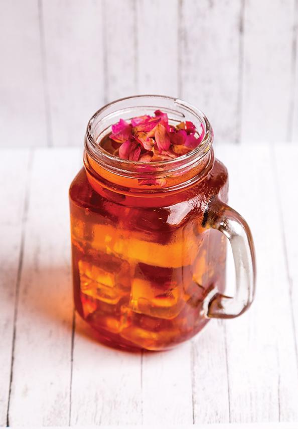 Rose drink