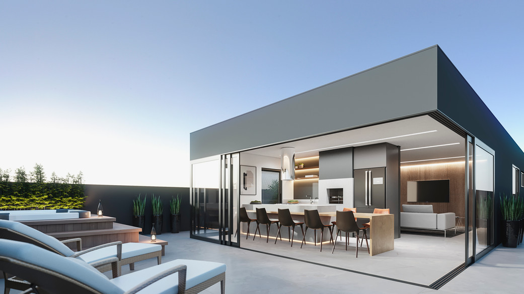 Área Gourmet Duplex