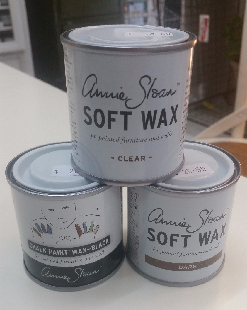 annie sloan soft wax chalk paint