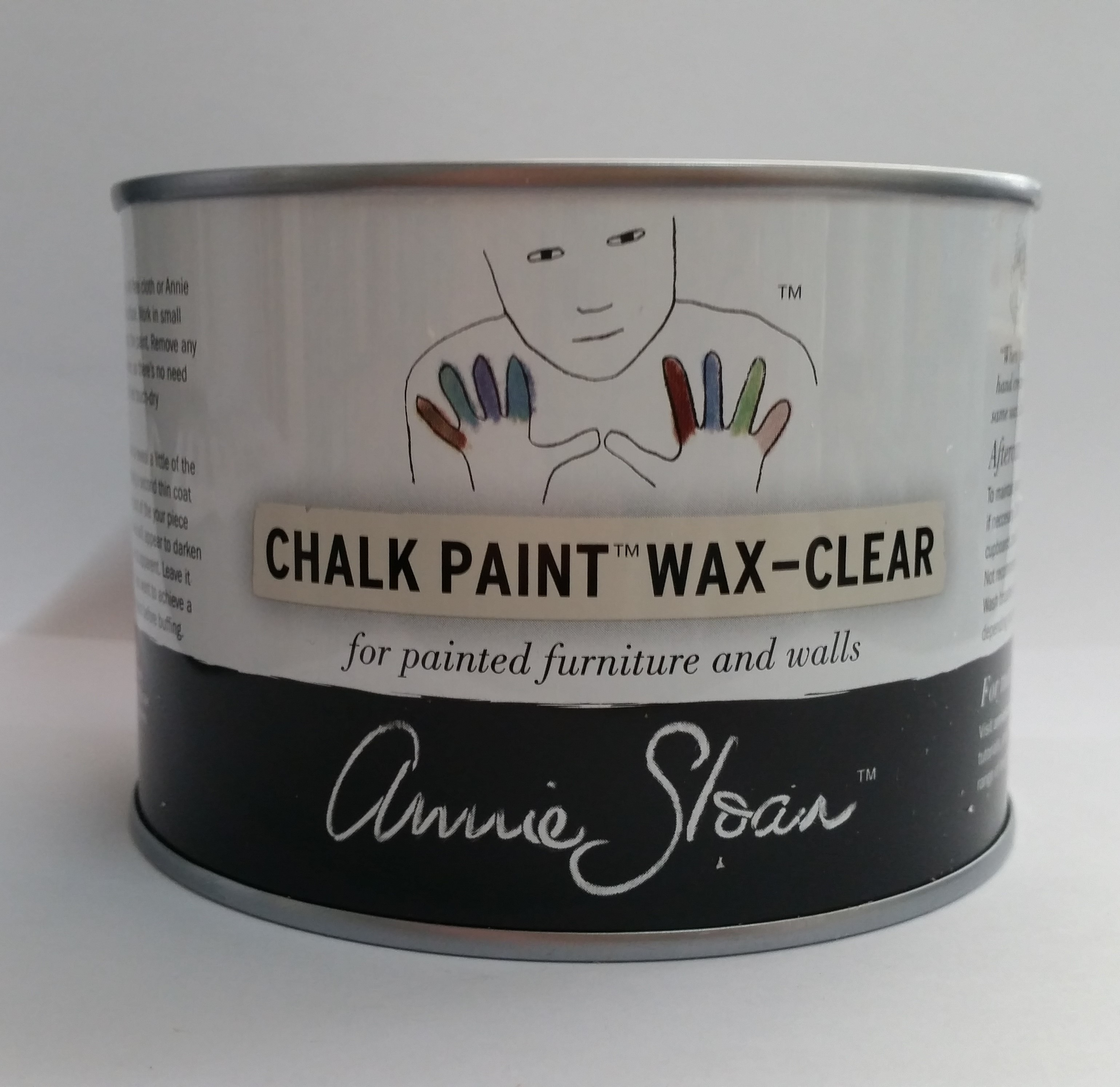 annie sloan chalk paint wax clear