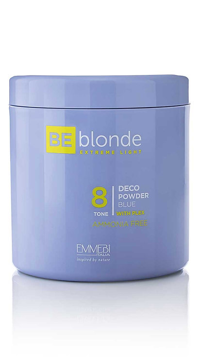 BE Blonde - Extreme Light 8 Deco Powder Blue - Bez Amoniaku z Plex