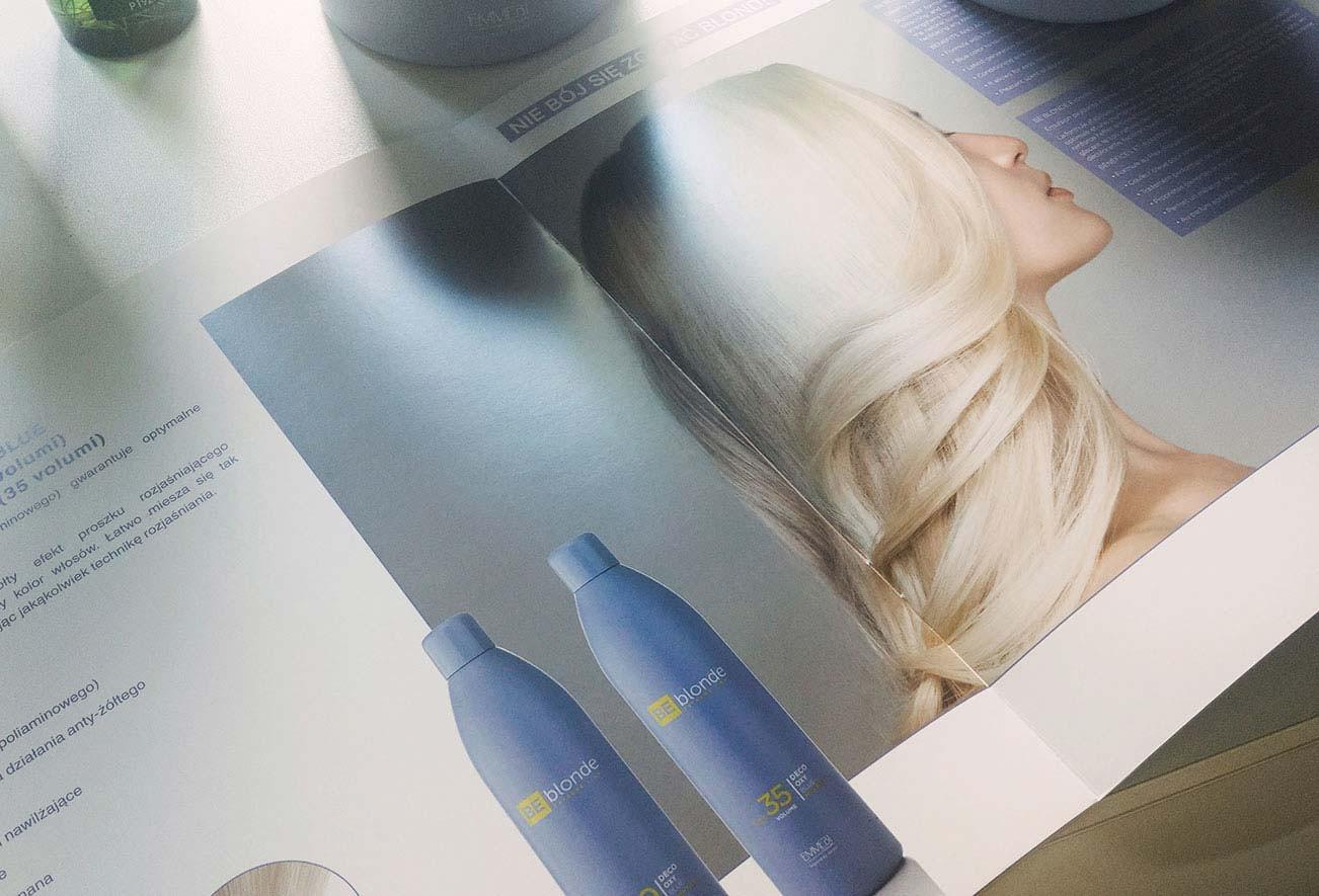 Be Blonde - Katalog⠀