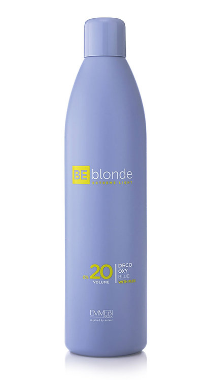 BE Blonde - DECO OXY BLUE Kremowa emulsja utleniająca 6% (20 volumi)