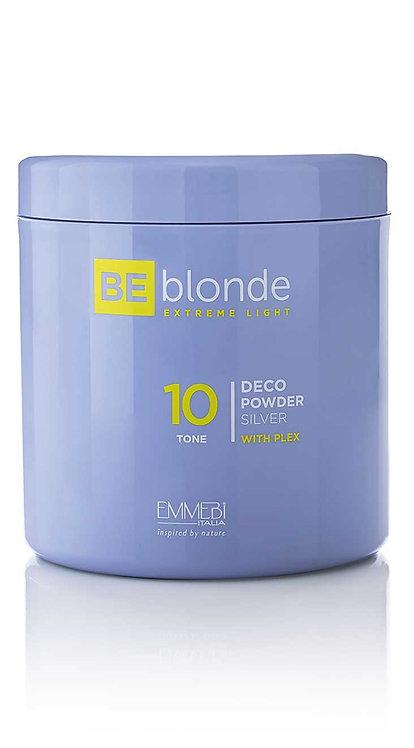 BE Blonde - Extreme Light 10 Deco Powder Silver z Plex