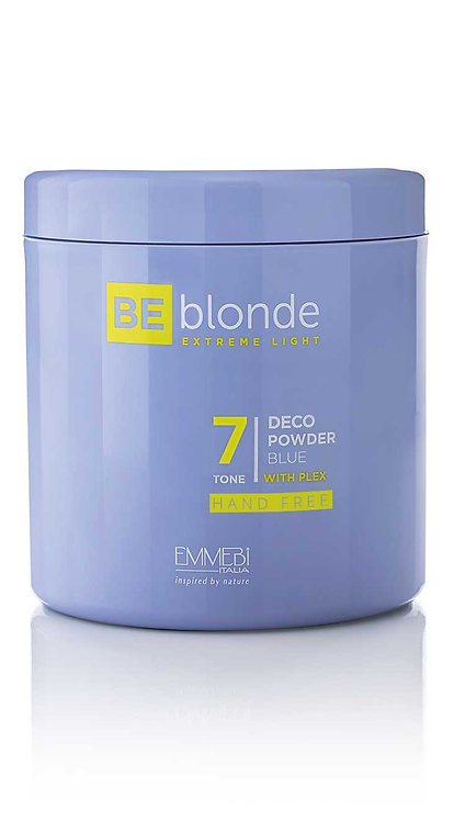 BE Blonde - Extreme Light 7 Deco Powder Blue Free Hand