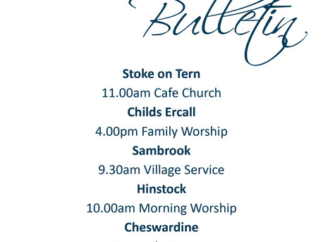 February 9th Services