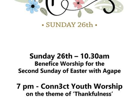 Sunday 26th April