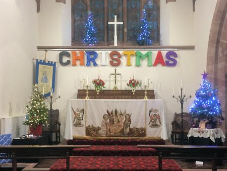St Peter's Christmas Tree Festival