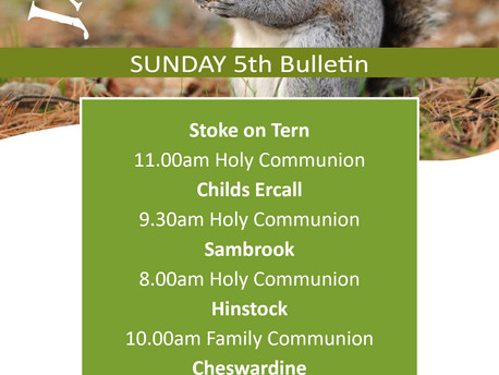 Our first Sunday Services of 2020