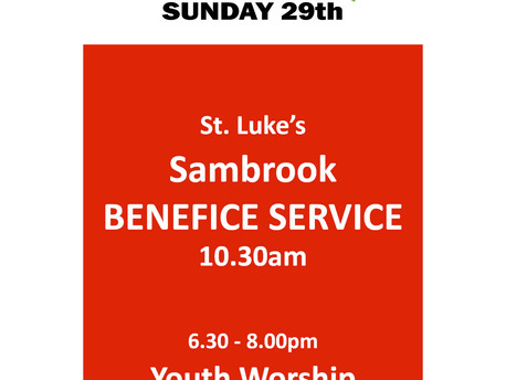 Details of our Benefice Service: