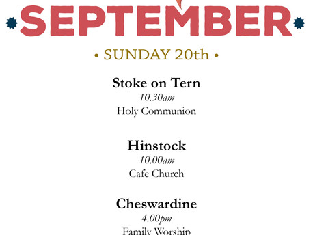 Services this Sunny Sunday