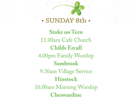 Services 8th March