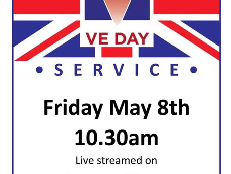 VE DAY SERVICE - 8th May